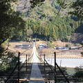 塩郷の吊り橋の写真_58488