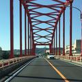 赤い橋の写真_202834