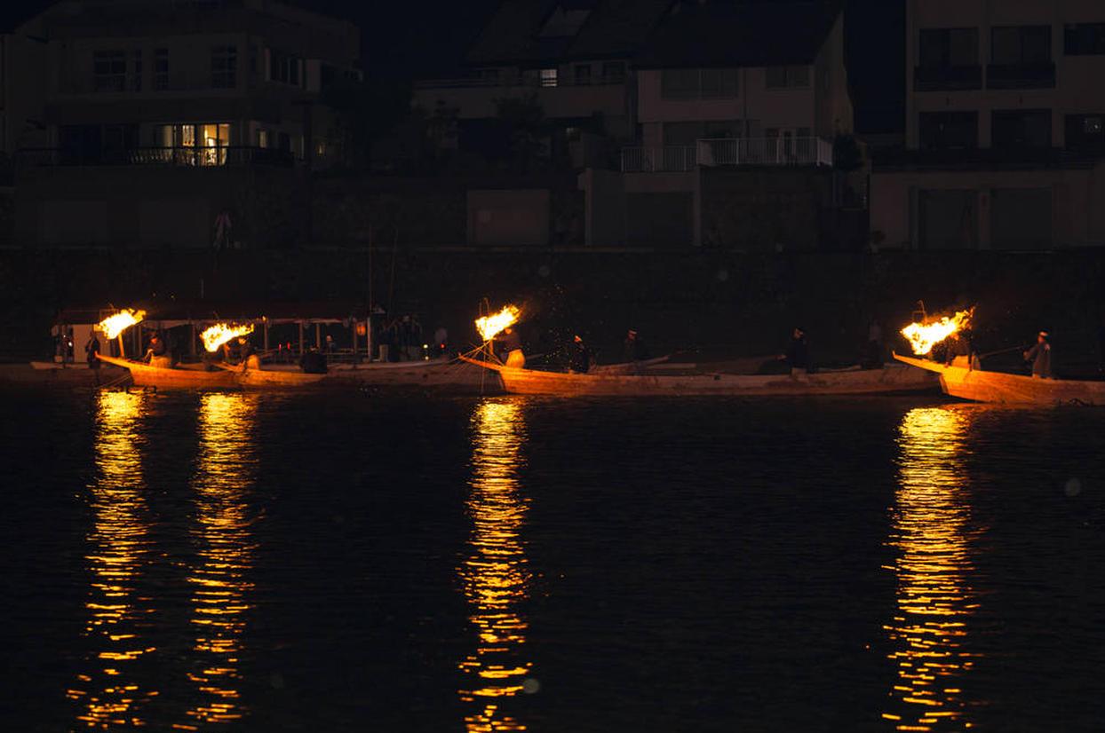 長良川鵜飼観光船