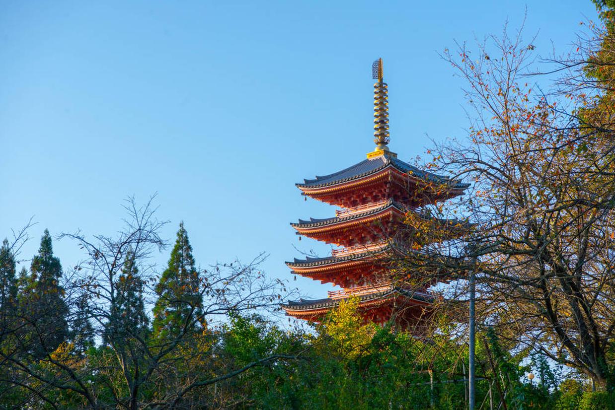 深見五重の塔