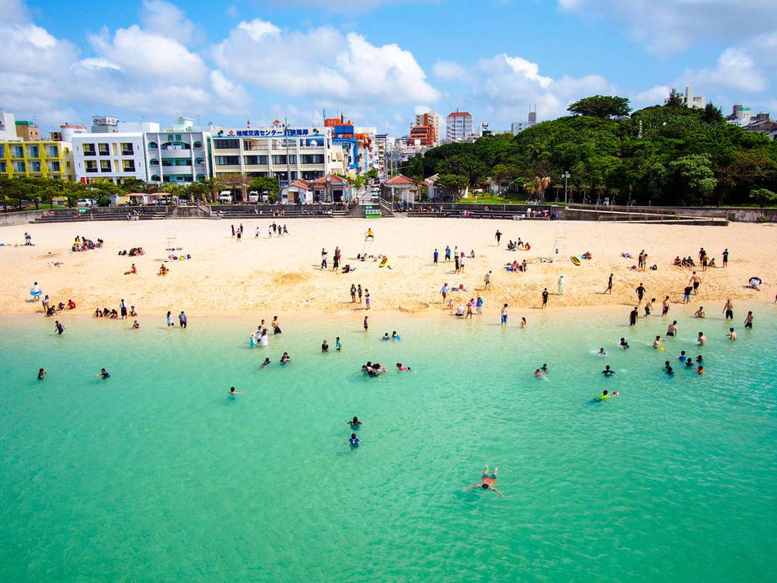 沖縄 海開き