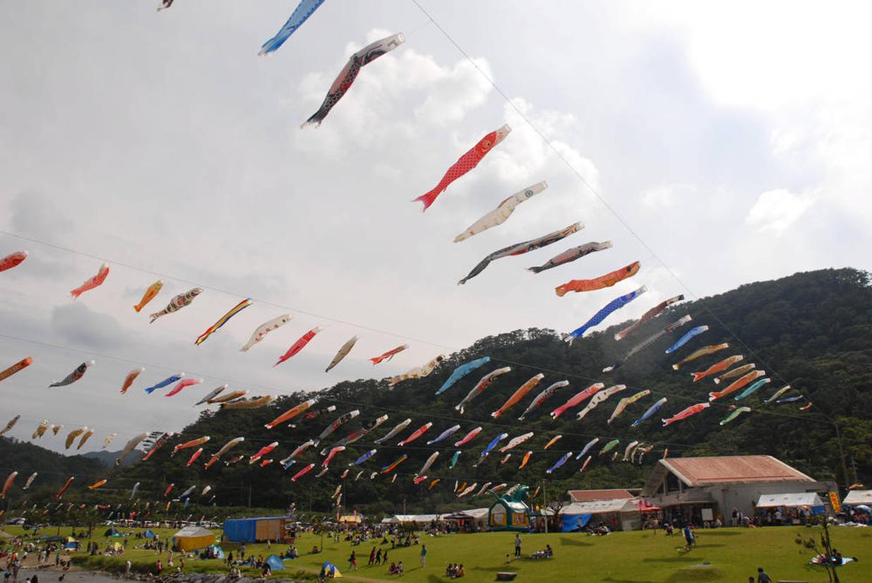 奥ヤンバル鯉のぼり祭り