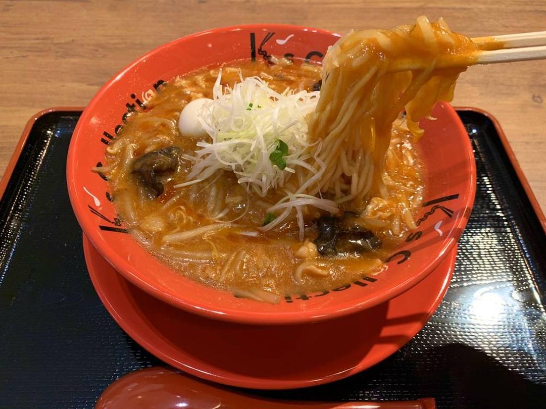 K's collection 辛味噌サンマー麺