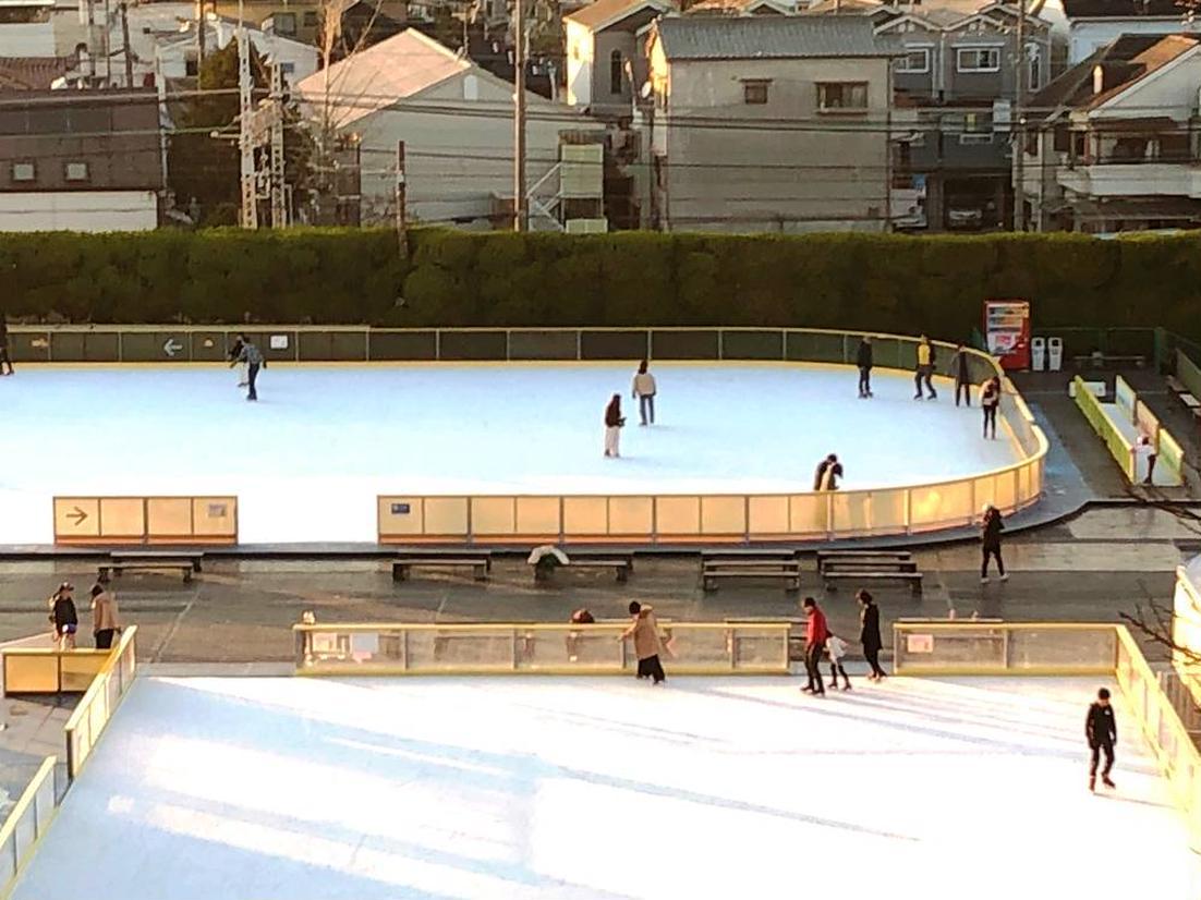 スケートエリア