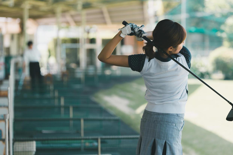 ゴルフ練習場 イメージ