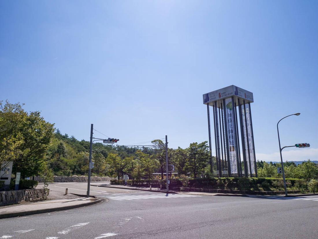 岐阜県現代陶芸美術館 入口
