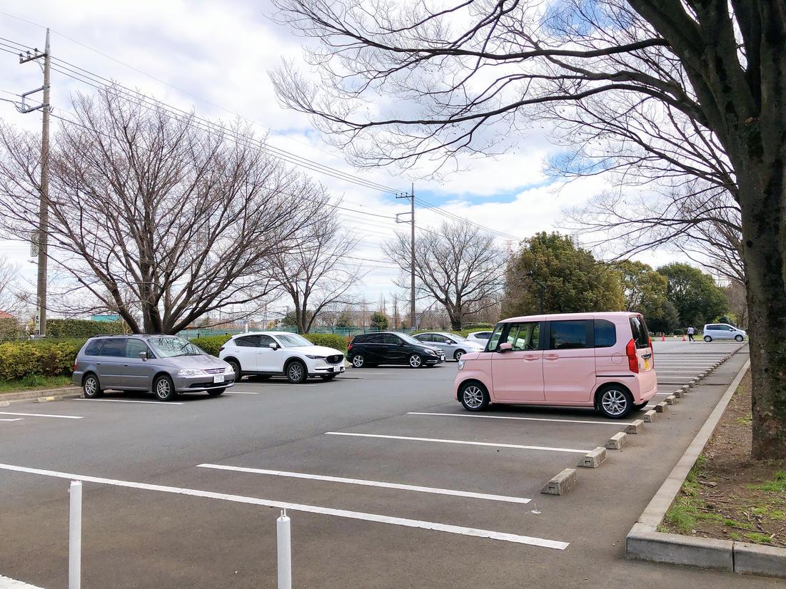 神代植物公園第二駐車場