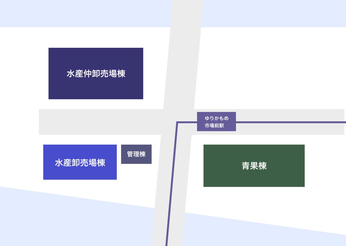 豊洲市場 マップ