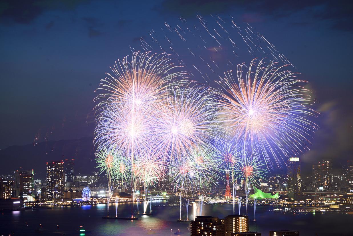 みなと神戸海上花火