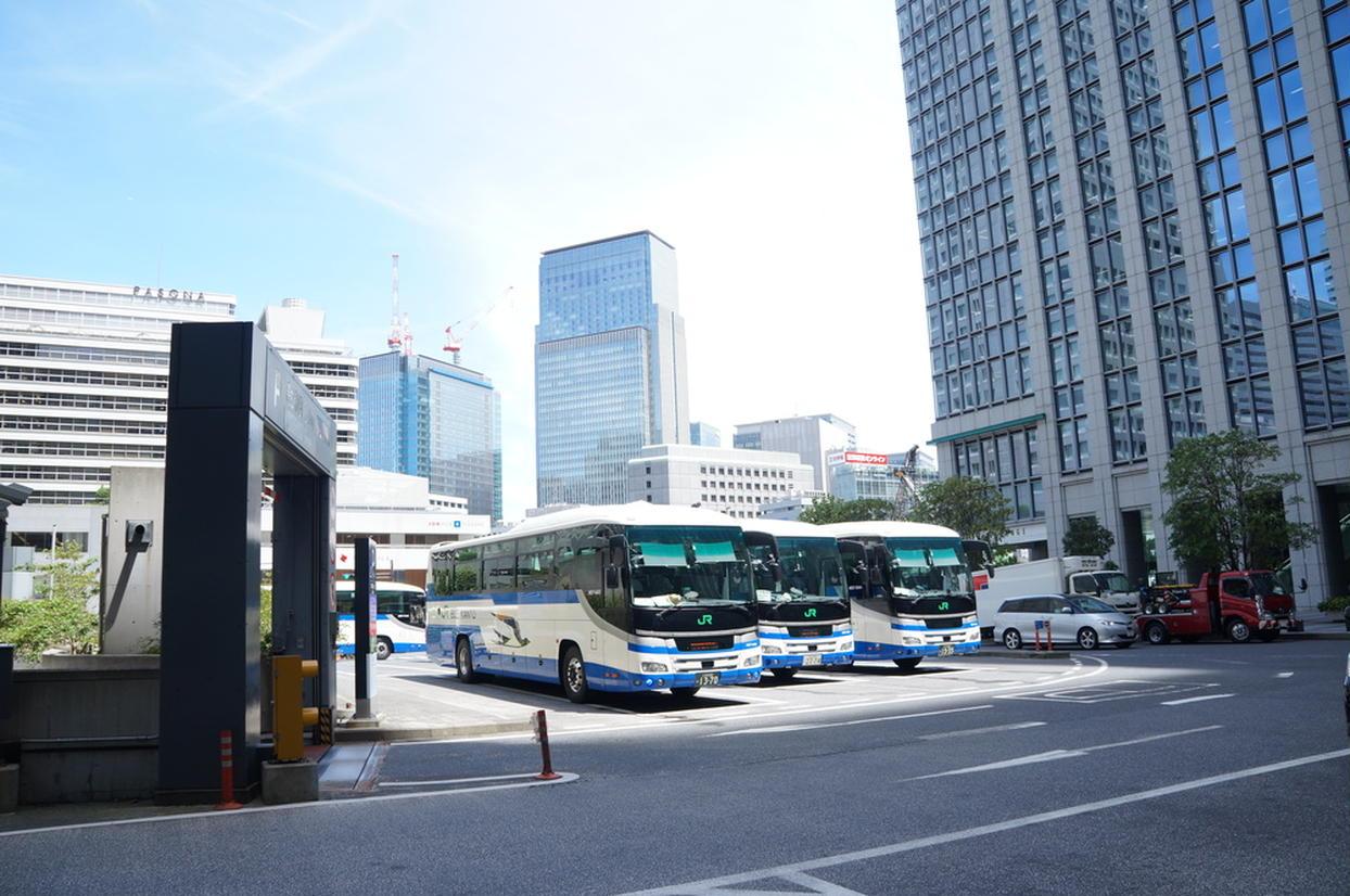 日本橋口バスターミナル