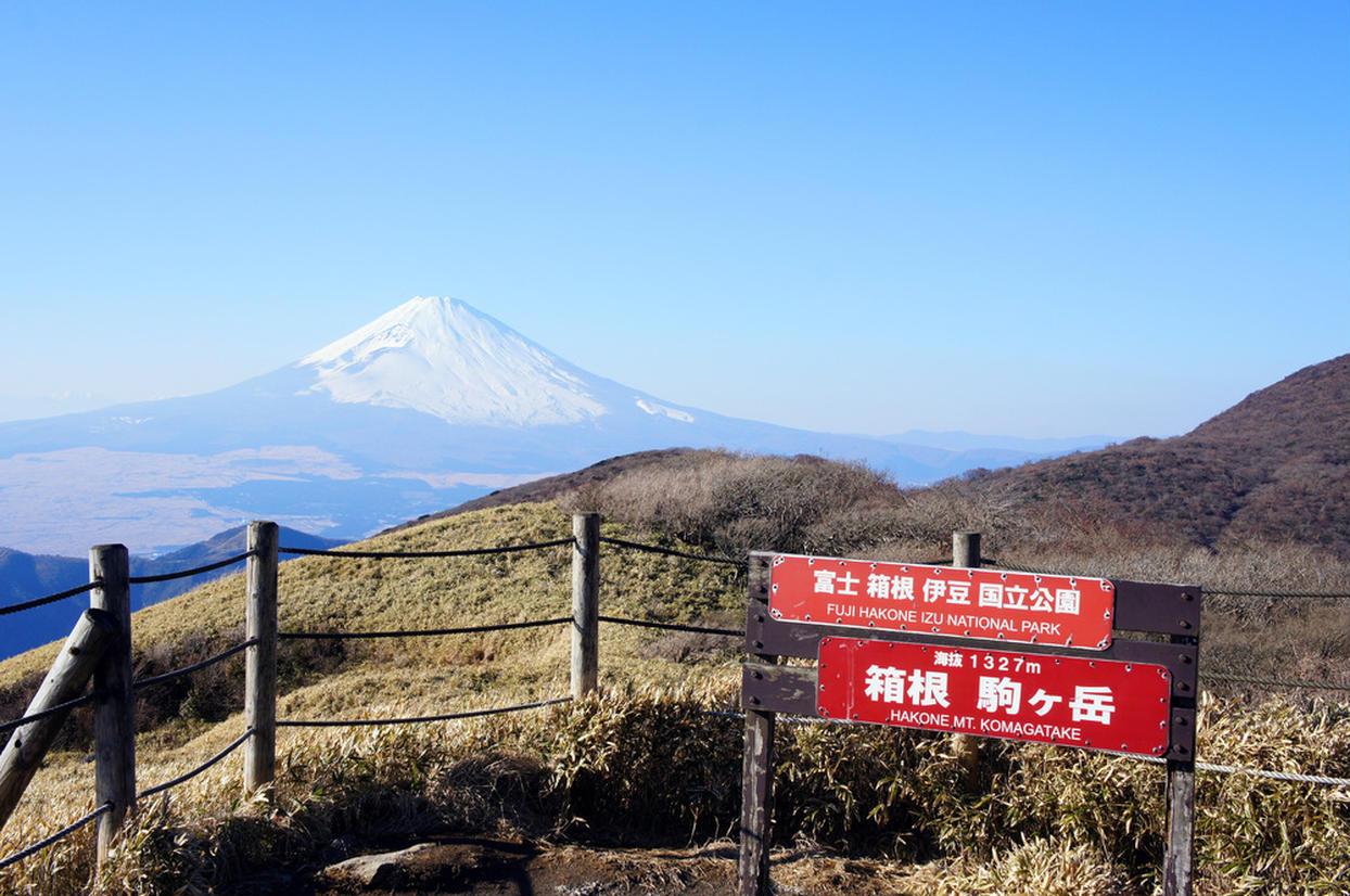 箱根駒ケ岳からの富士山