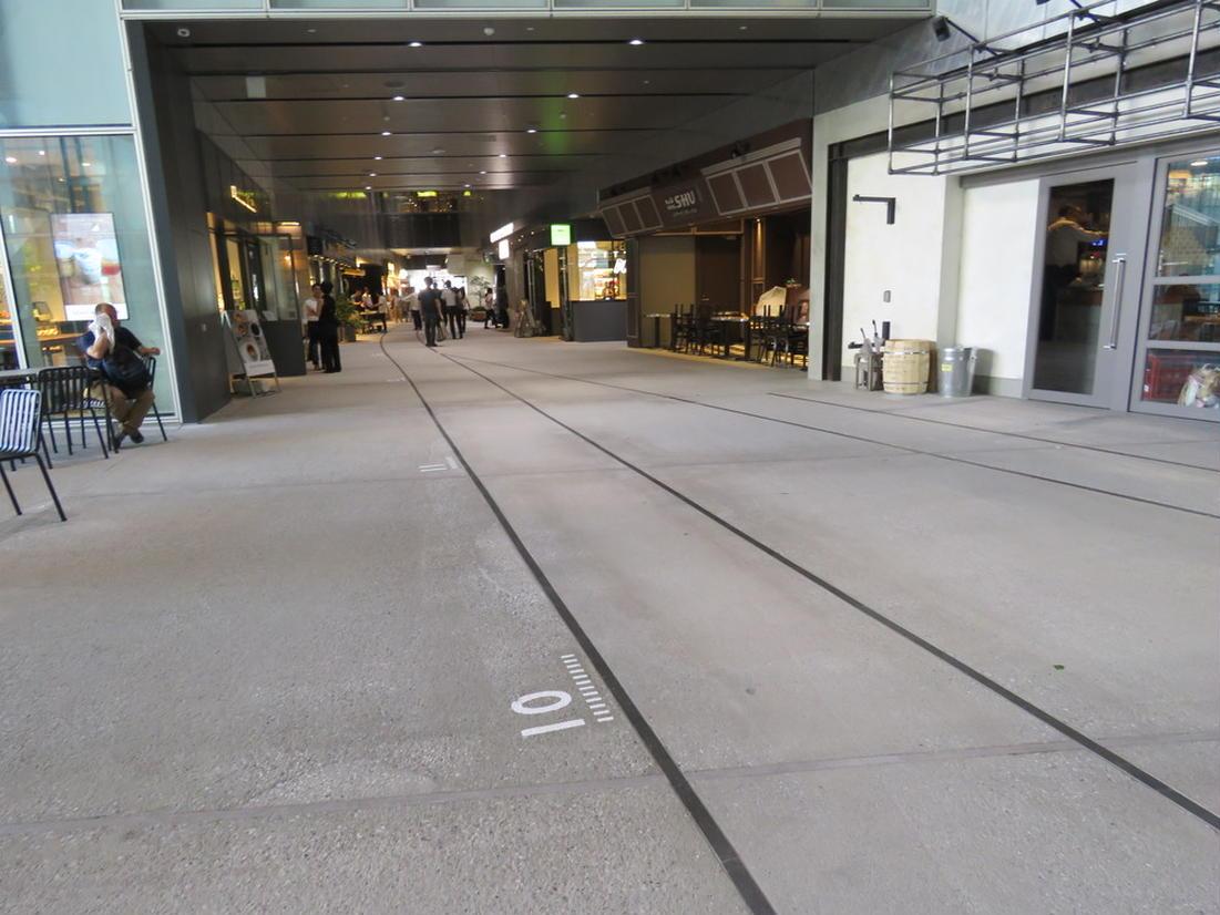 渋谷ストリーム 2階通路