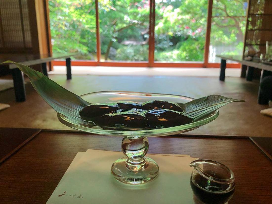 茶寮 宝泉「わらび餅」