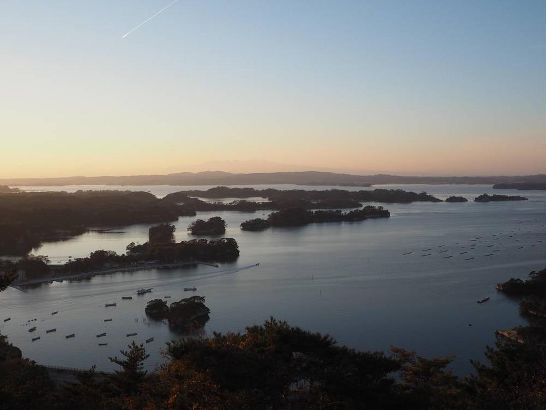 大高森展望台からの景色