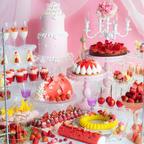 【インスタ映え】煌めく宮殿のパーティーをイメージした「ストロベリーデザートビュッフェ」開催!