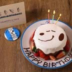 スヌーピーと一緒に誕生日をお祝いしよう!PEANUTS DINER 横浜・神戸のバースデーケーキに新デザインが登場