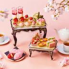 ザ ストリングス 表参道にて「ストロベリー&桜 アフタヌーンティー」の販売を開始!
