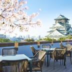 関西屈指の桜の名所を一望!「THE LANDMARK SQUARE OSAKA」で旬の美食とお花見を楽しむ