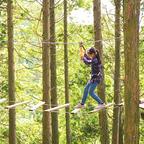シーズン到来!本格アスレチック「フォレストアドベンチャー・神戸六甲山」&バーベキュー場も同時オープン