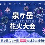 宮城県仙台市「ソーシャルディスタンス花火大会」開催決定!泉ヶ岳の山頂からは夜景も楽しめる