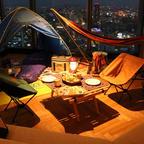 地上150mの客室でグランピング体験!「名古屋プリンスホテル スカイタワー」でキャンプ気分を楽しもう