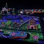 光のトリックアートや巨大な地上絵などのイルミネーションイベントが東京ドイツ村で今年も開催!