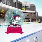 スケートリンクや専用アプリでスヌーピーと一緒に楽しもう!「南町田グランベリーパーク」1周年記念イベント