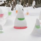 【入場無料】天気によって見え方が変わる!冬のランドアート『Snow Pallet 13』札幌パークホテルで開催