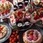 徳島「アオアヲ ナルト リゾート」の週末ランチに苺が堪能できるデザートビュッフェが登場!