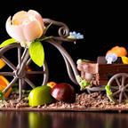 自転車のチョコに花や植物のボンボンショコラ「横浜ベイホテル東急」でバレンタインギフト販売