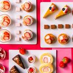 旬の苺を使った20種のスイーツビュッフェ「リーガロイヤルホテル広島」の人気ランチに期間限定で登場!