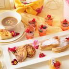 お花と蜂蜜をテーマにしたデザートブッフェ登場!マリーアントワネットのプライベートガーデンを表現
