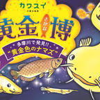 """""""たまずん""""や世界中の美しい黄金色のさかなたちに会える!「川崎水族館」初の特別企画展示を開催"""