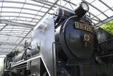梅林公園の蒸気機関車