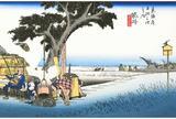 袋井宿  袋井(出茶屋)