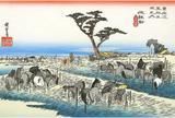 池鯉鮒宿  池鯉鮒(首夏馬市)