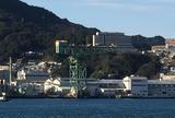 【船から】三菱長崎造船所ジャイアント・カンチレバークレーン