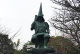 加藤清正銅像