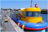 水中観光船「にじいろさかな号」「水中をお散歩⁉︎」