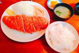 【サンオリーブ】赤身とんかつ定食  ¥900