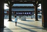東本願寺(北回りの帰路)