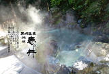 黒川温泉 旅館 壱の井 湯の華の浮く硫黄温泉