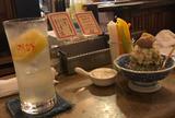 いか玉焼と串カツ マハカラ
