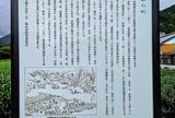 東海道坂下宿 宿場図 案内板