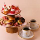 PEANUTS Cafe・PEANUTS DINERにてピーナッツガールズをイメージしたティーパーティーセット登場