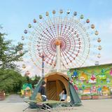 週末10組限定のキャンプ体験!静まり返った夜の遊園地「那須ハイランドパーク」でドキドキ体験
