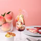 """とろける""""桃""""を贅沢に堪能!内側から美を目指す「フルーツコース専門店」ならでは旬の果物の新メニュー"""