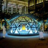 流れ星をテクノロジーで可視化!願いと連動する体験型イルミネーションを「コレド室町テラス大屋根広場」で開催