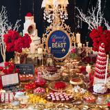 美女と野獣がテーマのブッフェ!豪華で優雅な世界観の中で苺とバラを使ったデザートを満喫