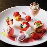イチゴのスイーツプレート付き宿泊プラン「京都ホテルオークラ」で提供!客室で安全に味わえる
